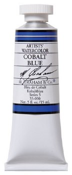 M. Graham Watercolor Cobalt Blue