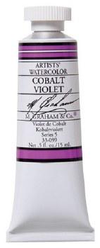 M. Graham Watercolor Cobalt Violet