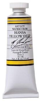 M. Graham Watercolor Hansa Yellow Deep