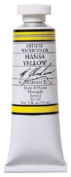 M. Graham Watercolor Hansa Yellow