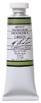 M. Graham Watercolor Hookers Green