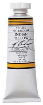 M. Graham Watercolor Indian Yellow