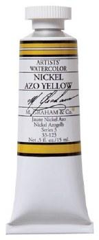 M. Graham Watercolor Nickel Azo Yellow