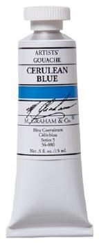 M. Graham Gouache Cerulean Blue