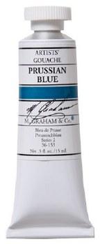 M. Graham Gouache Prussian Blue