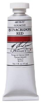 M. Graham Gouache Quin Red