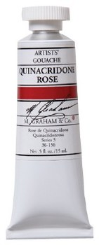 M. Graham Gouache Quin Rose