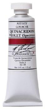 M. Graham Gouache Quin Violet