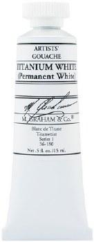 M. Graham Gouache Titanium White