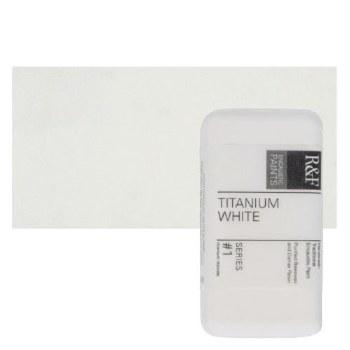 Encaustic Paint Cakes, 40ml Cakes, Titanium White