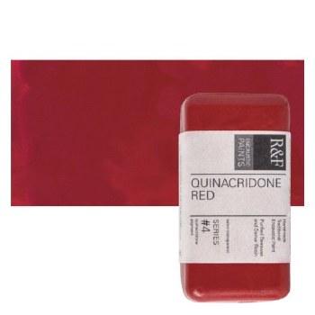 Encaustic Paint Cakes, 40ml Cakes, Quinacridone Red