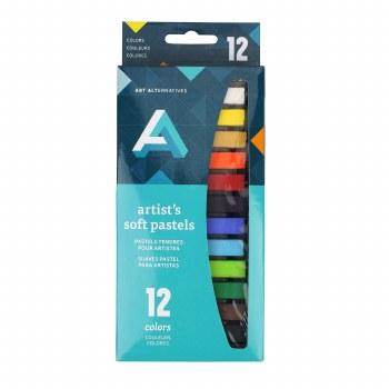 Artist Soft Pastel Sets, 12-Color Set Assorted