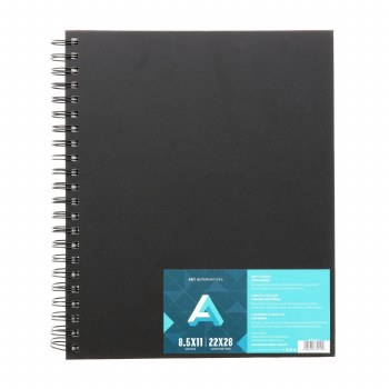 AA Sketch Books, Spiral-Bound, 8.5 in. x 11 in.