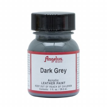 Acrylic Leather Paint, 1 oz. Bottles, Dark Grey