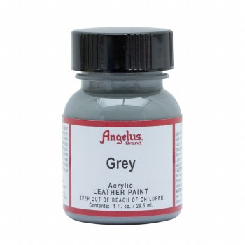 Acrylic Leather Paint, 1 oz. Bottles, Grey
