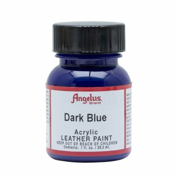 Acrylic Leather Paint, 1 oz. Bottles, Dark Blue