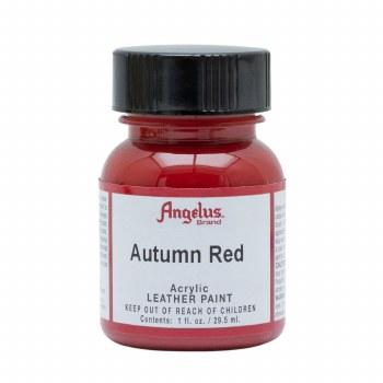 Acrylic Leather Paint, 1 oz. Bottles, Autumn Red