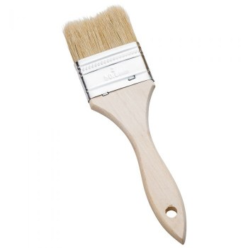 Varnish & Chip Brushes, White Bristle, 2 in.