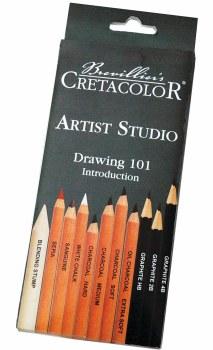 Artist Studio Drawing 101 Set, Artist Studio Drawing 101 Set