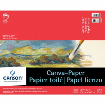 Canson Canva-Paper Pads, 16 in. x 20 in.