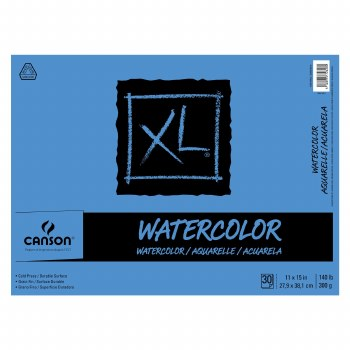 Canson XL Watercolor Pads, 11 in. x 15 in. - 30 Shts./Pad