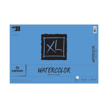 Canson XL Watercolor Pads, 12 in. x 18 in. - 30 Shts./Pad