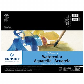 Canson Montval Watercolor Blocks, 15 in. x 20 in.