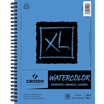 Canson XL Watercolor Pads, 7 in. x 10 in. - 30 Shts./Pad