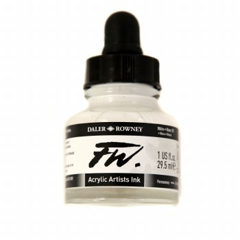 FW Acrylic Artists Ink, White