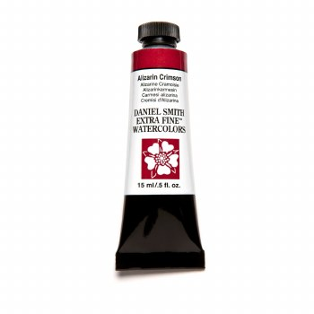 Daniel Smith Watercolors, 15ml Tubes, Alizarin Crimson