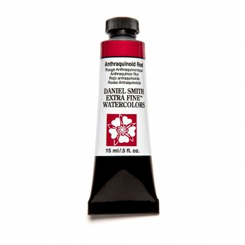 Extra-Fine Watercolors, 15ml Tubes, Anthraquinoid Red