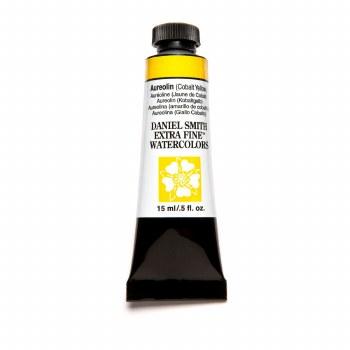 Extra-Fine Watercolors, 15ml Tubes, Aureolin (Cobalt Yellow)