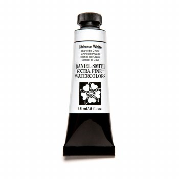 Daniel Smith Watercolors, 15ml Tubes, Chinese White
