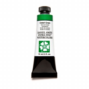 Extra-Fine Watercolors, 15ml Tubes, Cobalt Green