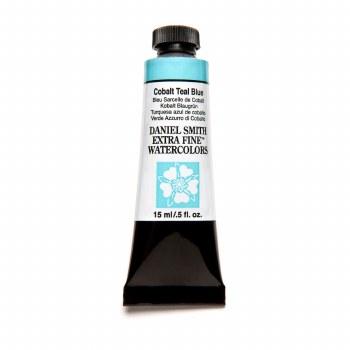 Extra-Fine Watercolors, 15ml Tubes, Cobalt Teal Blue