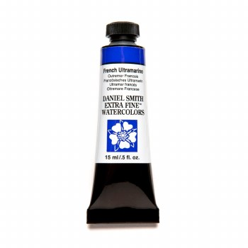 Extra-Fine Watercolors, 15ml Tubes, French Ultramarine