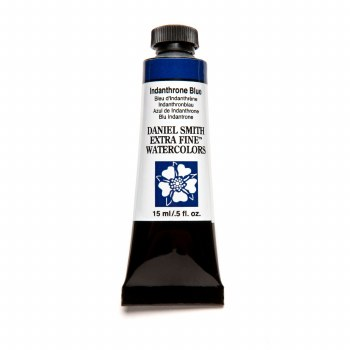 Extra-Fine Watercolors, 15ml Tubes, Indanthrone Blue