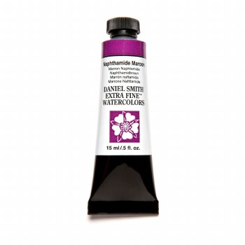 Extra-Fine Watercolors, 15ml Tubes, Naphthamide Maroon