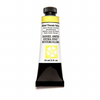 Extra-Fine Watercolors, 15ml Tubes, Nickel Titanate Yellow