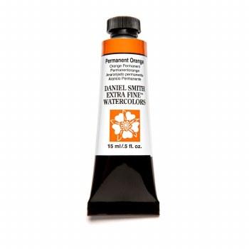 Extra-Fine Watercolors, 15ml Tubes, Permanent Orange