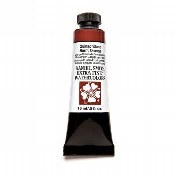 Extra-Fine Watercolors, 15ml Tubes, Quinacridone Burnt Orange
