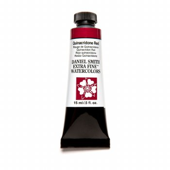 Extra-Fine Watercolors, 15ml Tubes, Quinacridone Red