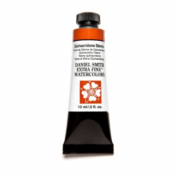 Extra-Fine Watercolors, 15ml Tubes, Quinacridone Sienna