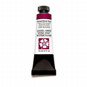 Extra-Fine Watercolors, 15ml Tubes, Quinacridone Violet