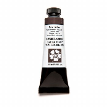 Extra-Fine Watercolors, 15ml Tubes, Raw Umber