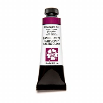 Extra-Fine Watercolors, 15ml Tubes, Ultramarine Red