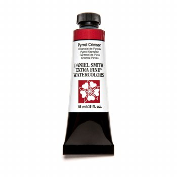 Extra-Fine Watercolors, 15ml Tubes, Pyrrol Crimson