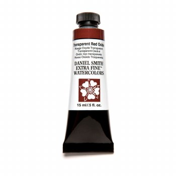 Extra-Fine Watercolors, 15ml Tubes, Transparent Red Oxide