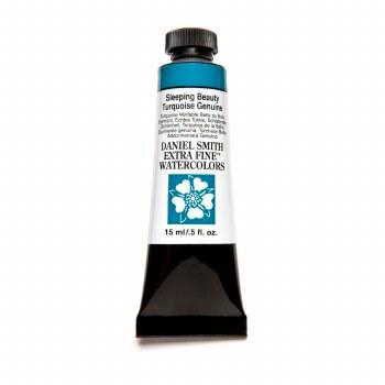 Daniel Smith Watercolors, 15ml Tubes, Sleeping Beauty Turquoise Genuine - PrimaTek
