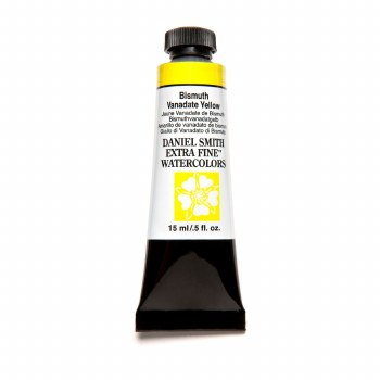 Extra-Fine Watercolors, 15ml Tubes, Bismuth Vanadate Yellow